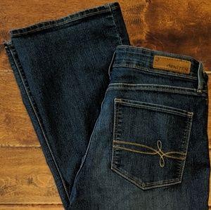 Denizen Tall Modern Boot Cut stretch jeans EUC